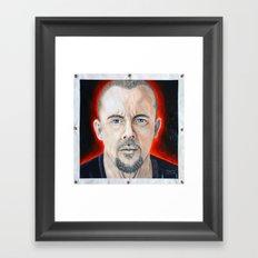 Alexander McQueen Framed Art Print