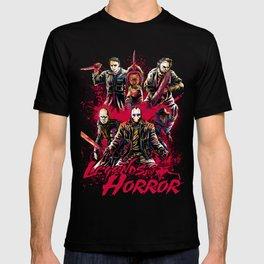 LEGENDS OF HORROR COLOR T-shirt