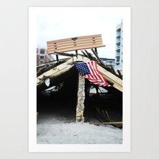 Long Beach, NY  Art Print