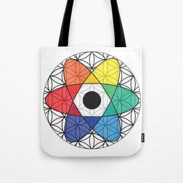Flower of Science Tote Bag