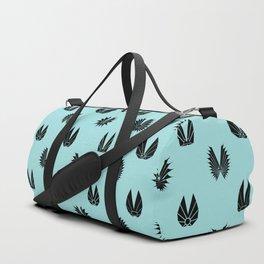 Abstract Geometric Duffle Bag