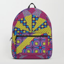Any Day Geo Quilt Backpack