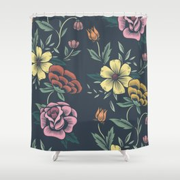 Floral Art #8 Shower Curtain