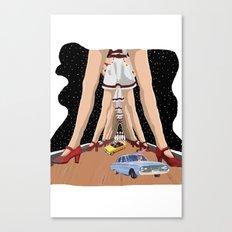 Abides Ride Canvas Print