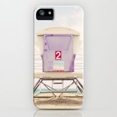 Lifeguard Tower 2  iPhone (5, 5s) Slim Case
