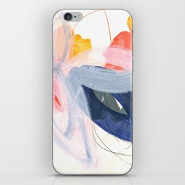 abstract painting XVII iPhone Skin