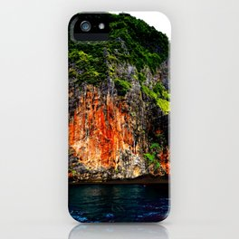 thailand cliffs iPhone Case