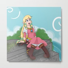 Skyward Princess Metal Print