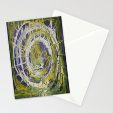 Earth Goddess Abstract Art Stationery Cards