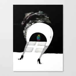 Saída Canvas Print