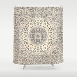 Bohemian Farmhouse Traditional Moroccan Art Style Texture Shower Curtain