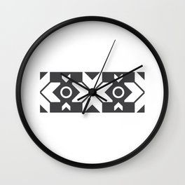 Faroe Islands Pattern Wall Clock