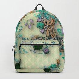 Antique florals Backpack