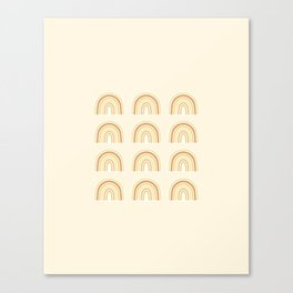 Rainbows for June Canvas Print