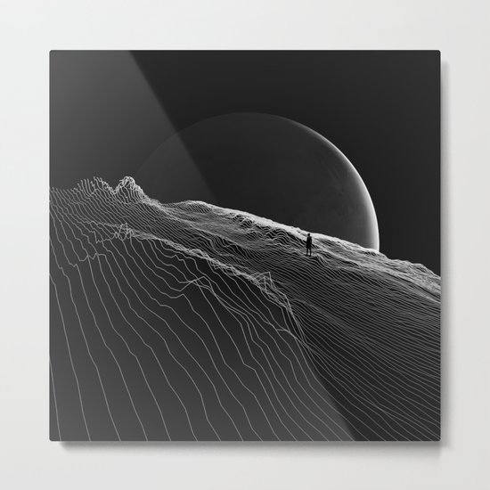 Private version of the world Metal Print