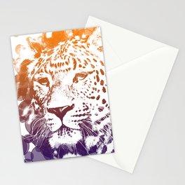 tiger lights Stationery Cards