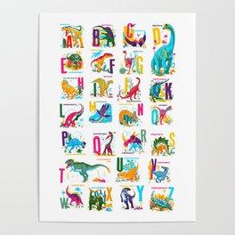 Alphasaurus Rex Poster