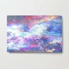 Liquid space Metal Print