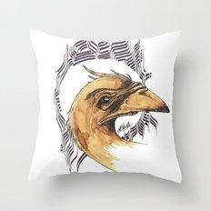 SAINT BIRD OF PARADISE  Throw Pillow