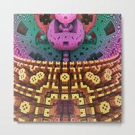 Brain 7 Metal Print