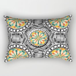 Beveled geometric pattern Rectangular Pillow