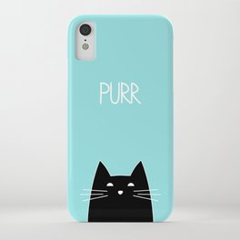 Purr iPhone Case