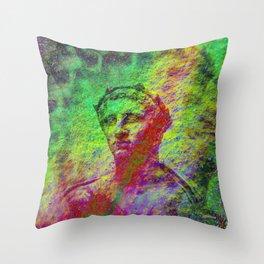 Bust 03 Throw Pillow