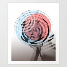 Der Kreis der Erinnerung 3 Art Print