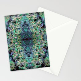 Black Light Nugs Royal Stain Stationery Cards