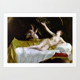 Orazio Gentileschi Danaë and the Shower of Gold Art Print
