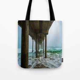 Murky Dreams - HB Pier 2016 Tote Bag