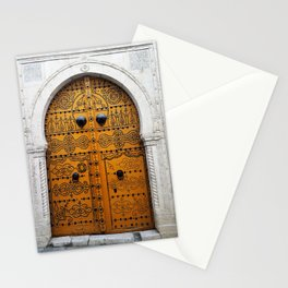 Medina Yellow Stationery Cards