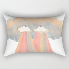 Cloud pink Rectangular Pillow