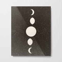 Olde Moone Metal Print
