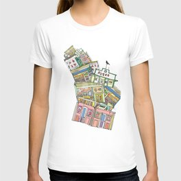 old houses T-shirt