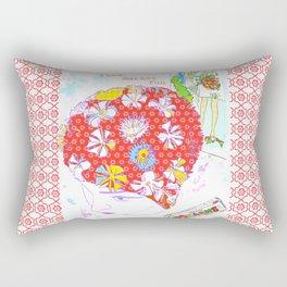 Flea Market Fun Rectangular Pillow