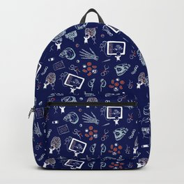 Academic Medicine on Navy Backpack