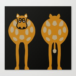 Double Ended Cow Humour Canvas Print