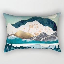 Evening Forest Rectangular Pillow