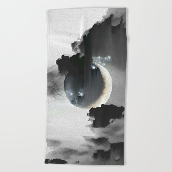 Cloud Falls Beach Towel