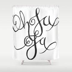 Oh La La Shower Curtain