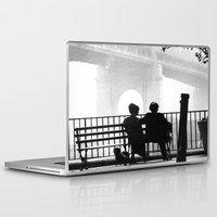 manhattan Laptop & iPad Skins featuring MANHATTAN by VAGABOND