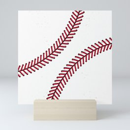 Fantasy Baseball Super Fan Home Run Mini Art Print