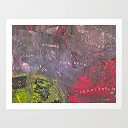 TOOTHSOME Art Print