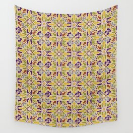 Te Stained Moroccan Mandala Wall Tapestry