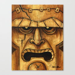 TIKI Frankenstein Canvas Print