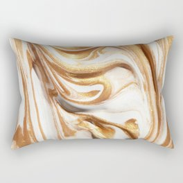 MARBLE CREAM Rectangular Pillow
