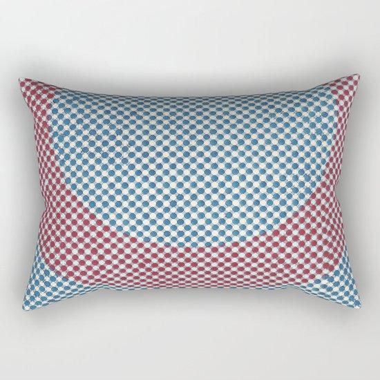 Lying in a zero circle Rectangular Pillow