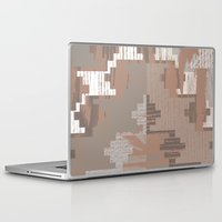 reassurance Laptop & iPad Skins featuring Wood print I by Magdalena Hristova