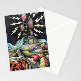Outlive the Man Stationery Cards